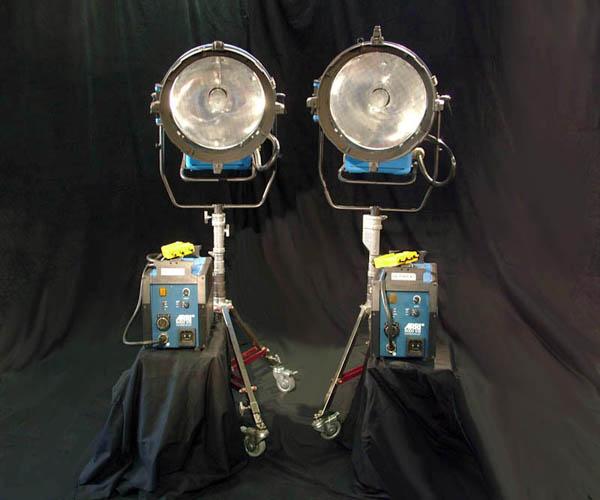 Used Arri 6k  HMI Par Lights for Sale
