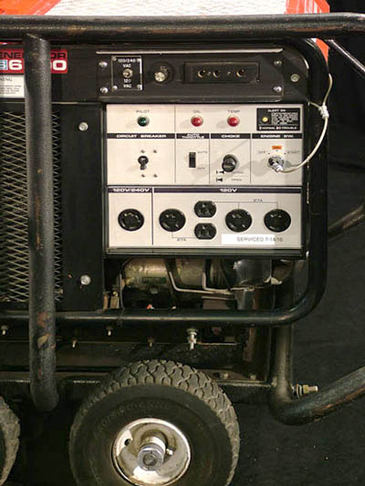 Honda ES 6500 Generator available for sale